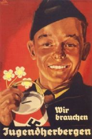 We need youth hostels - German poster 1938
